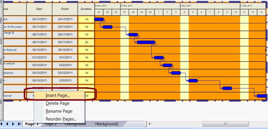 resume komputer 3 part 13 Gantt chart * Timeline | itdoubled